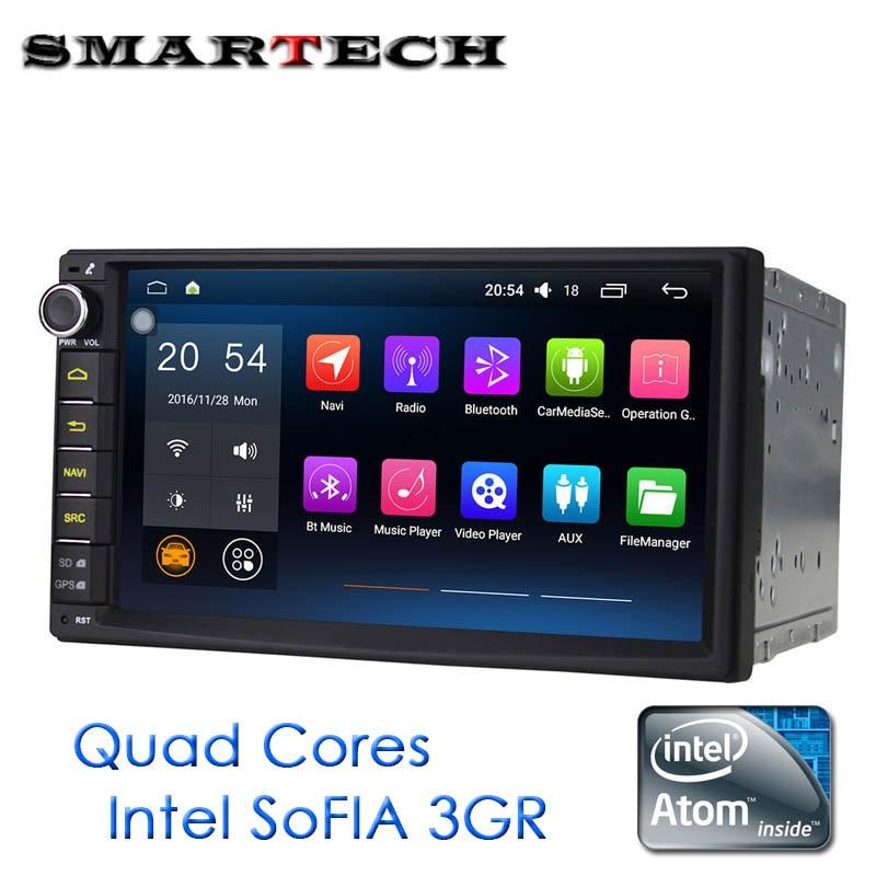 Universal 2Din Car Radio font b Android b font 6 0 Marshmallow Intel ATOM QuadCore HeadUnit