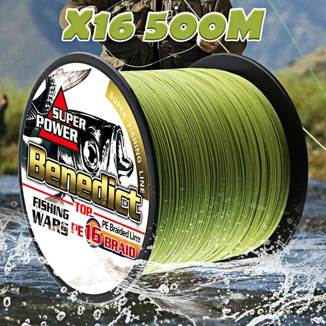 Special Price multifilament pe fishing line 16 Strands braided 500M hollowcore 20-500LBS thread line 0.20-2.0mm super saltwater fishing cords