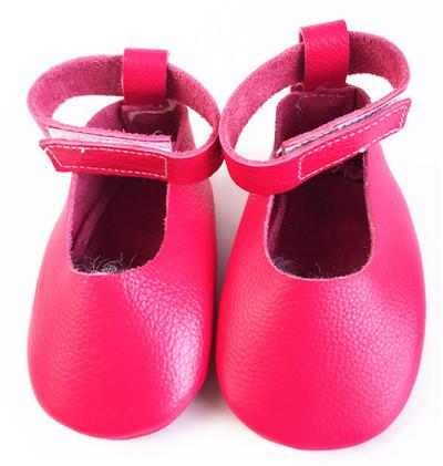 2016 Nuevo Estilo Hecho A Mano de Cuero Genuino Sólido Del Niño Del Bebé Mocasines Niños Niñas Zapatos Primer Caminante Del Niño Suave Suela del Zapato de Ballet