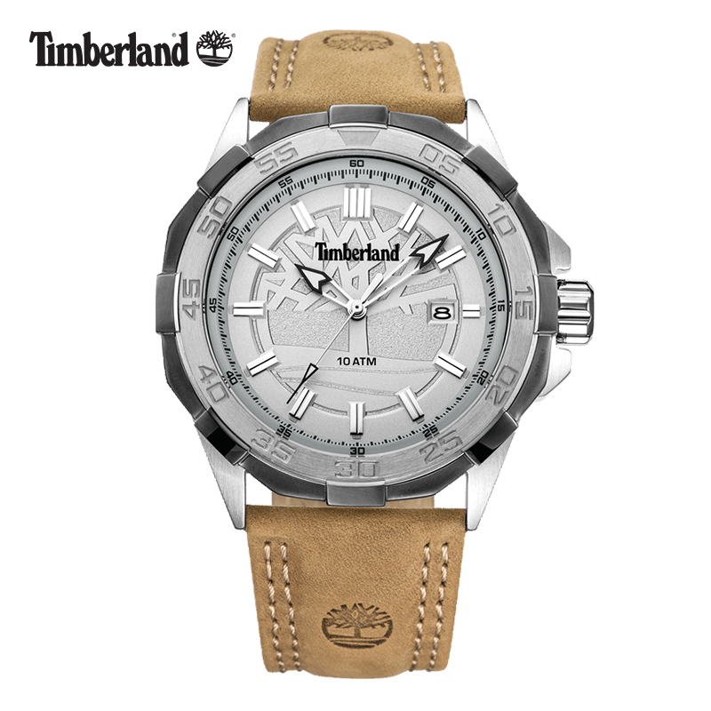 Timberland Original Mens Watches Quartz Multi function Calendar Week Display Water Resistant to 330 Feet Men's Watches T14098