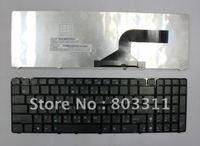A Estrenar del envío libre nuevos teclados Del Ordenador Portátil para ASUS G60 U50 X61 con marco Árabe MP-09Q33A0-528 Negro color