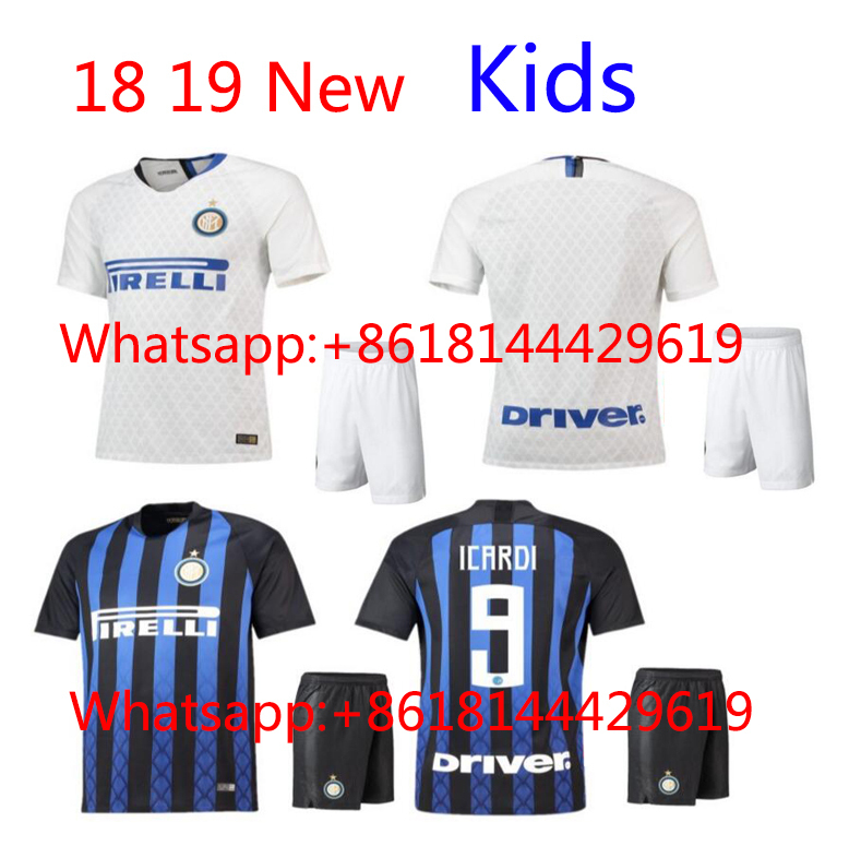 f1f68a454 2018 HOT SALES 2018 BEST QUALITY kids KIT INTER MILANES SOCCER JERSEY 17 18  HOME RED AWAY GRAY MEN SHIRT FREE SHIPPING. 1 order. Price  US ...