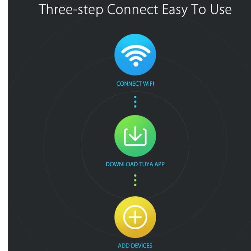 NEO COOLCAM capteur de fenêtre pour Wifi, capteur de fenêtre de porte en Wifi intelligent automatisation de la maison, alertes de Notification, Support du Google, IFTTT