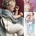 Детские Дети Новорожденный Кролик Одеяло Вязать вразвалку Покрывало Полотенца Коврик Для Ванной