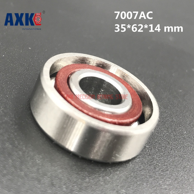 2019 New Limited High Quality 1pcs 7007 7007acd P4 Gb 35*62*14 Mm Angular Contact Bearings Spindle Cnc 25 Degree Angle2019 New Limited High Quality 1pcs 7007 7007acd P4 Gb 35*62*14 Mm Angular Contact Bearings Spindle Cnc 25 Degree Angle