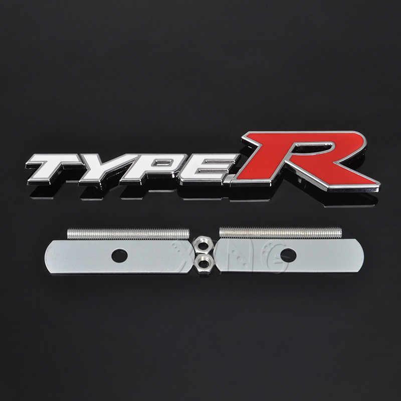 Cromo Negro 3D Metal Sport Insignia Adhesivo para HONDA CR-V ZRC FRV HRV CRX Integra