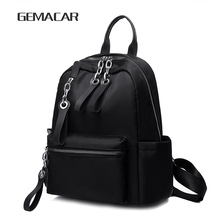 New Womens Elegant Backpack Oxford Cloth Fashion Simple Multi-function Bag Waterproof Large Capacity