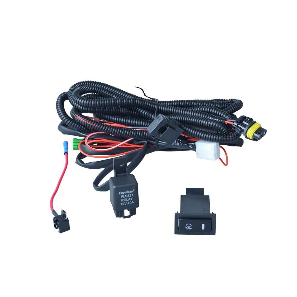 Fog Light Lamp Switch Harness for Nissan Sentra QASHQAI x trail rogue NOTE 2007 2013
