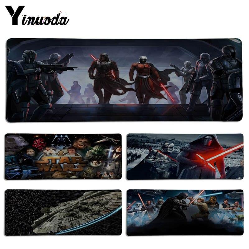 Yinuoda Wonderful star wars Keyboard Gaming MousePads Size for 30x90CM Speed Version Gaming Mousepads