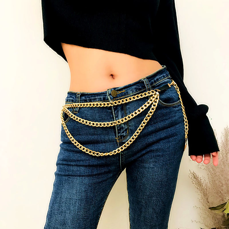 Earnest Luxury Crystal Rhinestone Statement Gold Tassel Skirt Dance Waist Chains For Women Ladies Sexy Beach Belly Chains Body Jewelry Home