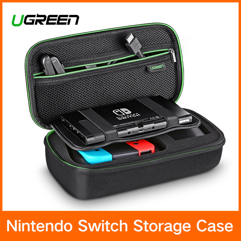 Ugreen Sac De Rangement pour Nintend Commutateur Commutateur de Nintendo Console Cas Durable Nitendo Cas pour NS Nintendo Commutateur Accessoires