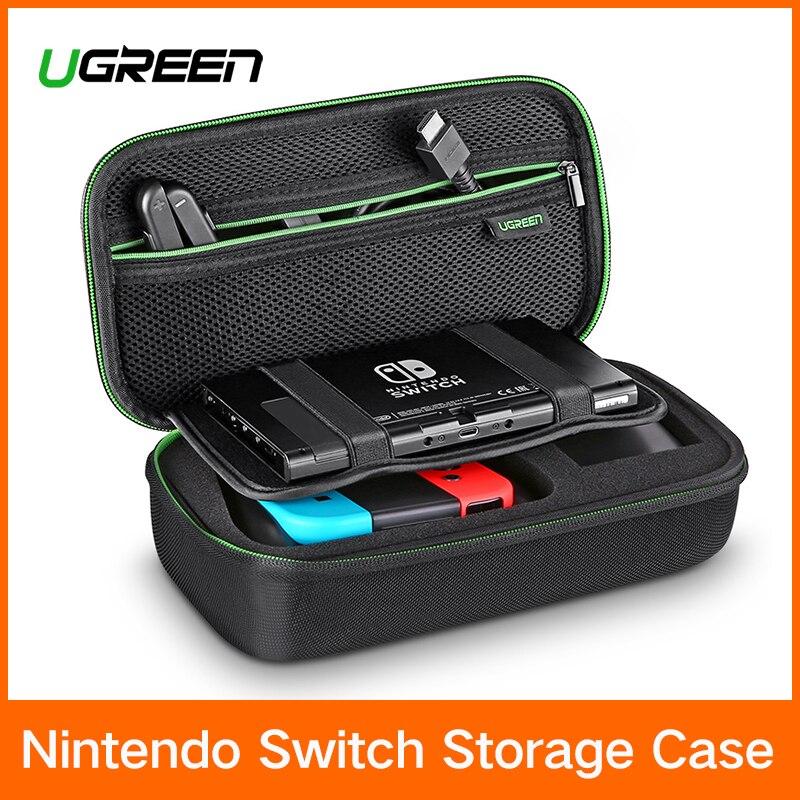 Ugreen bolsa de almacenamiento para Nintendo interruptor Nintendo Switch Console caso Durable Nitendo para NS Nintendo Switch Accesorios