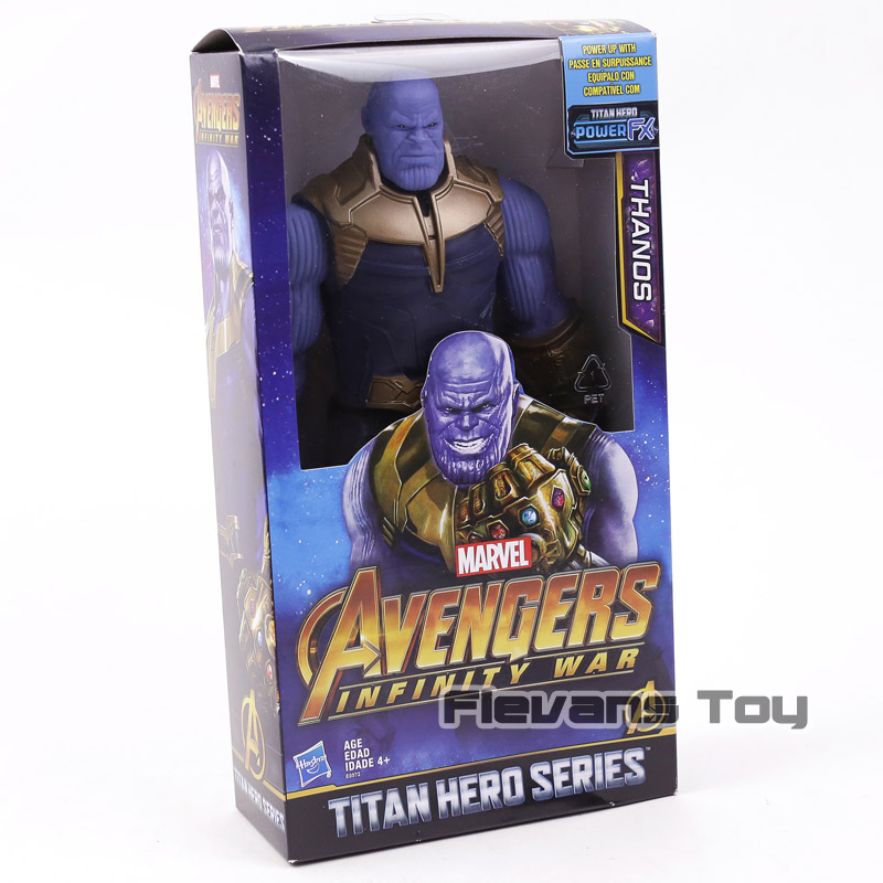 Marvel Avengers Infinity Guerra Thanos Iron Spider Captain America Black Panther Hulk Hulkbuster Action Figure Giocattolo
