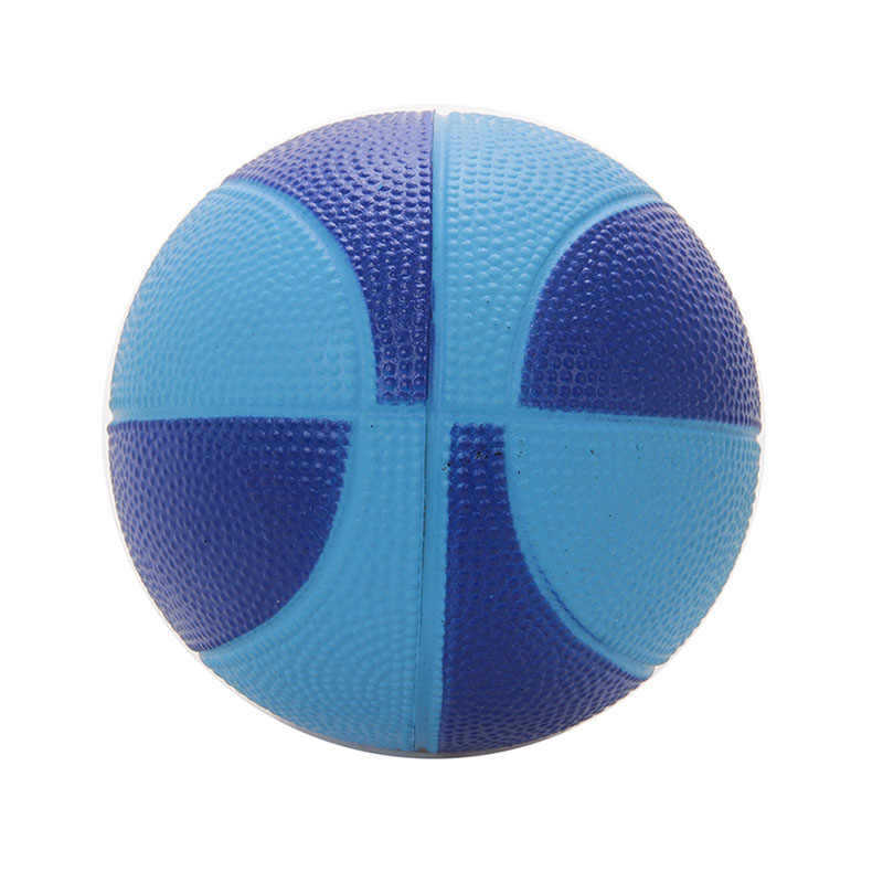 Soft PU Foam 12cm Mini Hoop Safe Toy Indoor Basketball Sponge Stress Ball Kids