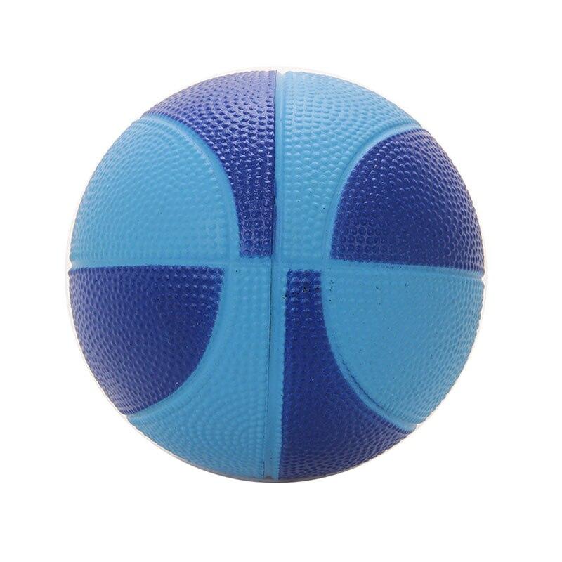 Soft PU Foam 12cm Mini Hoop Safe Toy Indoor Basketball Sponge Stress Ball Kids