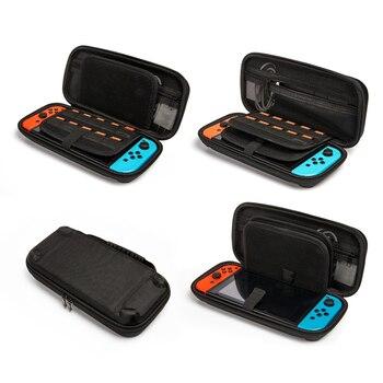 Портативный чехол для Nitendo Switch игровая сумка для хранения PU Жесткий чехол для Nitendo Switch NS консольные аксессуары с 20 игровым держателем
