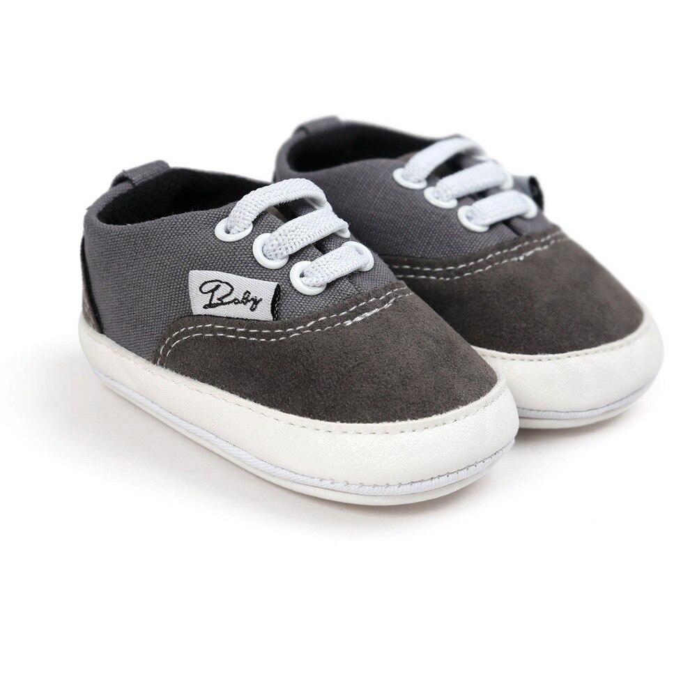 spuer di qualità a buon mercato per bambine, ragazzi, marca di tela, neonato, scarpe infantili per bambini di età 0 ~ 18 mesi.CX44C