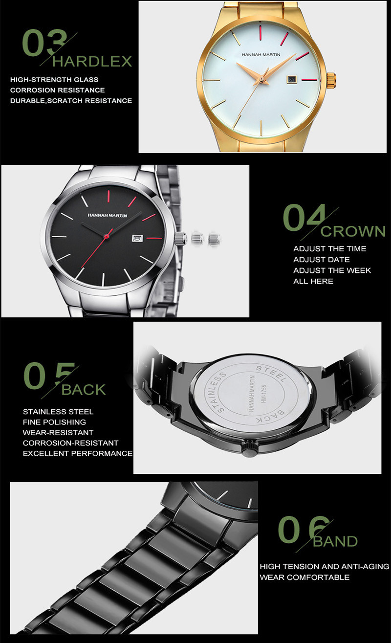 Men Sports Watches Mens Quartz Waterproof Wristwatches Male Clock Brand Luxury Military Full Steel Wrist Watch Relogio Masculino main 10