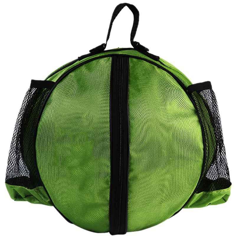 Bolsa de hombro para deportes al aire libre accesorios de equipo de entrenamiento de nailon equipo de fútbol para niños equipo de voleibol paquete de entrenamiento de 6 colores