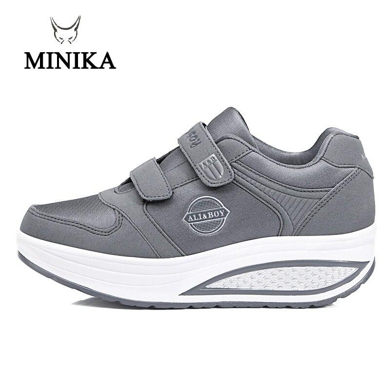 a6a2b103c582 2018 г., 4 цвета, весенняя обувь, женская обувь на платформе, женская обувь  для ...