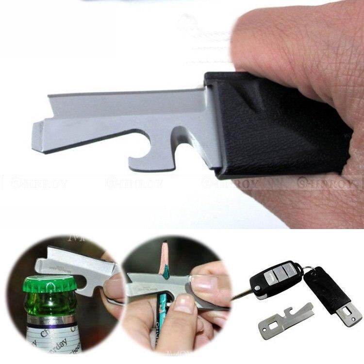 5 in 1 Mini Stainless Steel Multi-Purpose EDC Pocket Survival Tool Screwdriver Keyring5 in 1 Mini Stainless Steel Multi-Purpose EDC Pocket Survival Tool Screwdriver Keyring