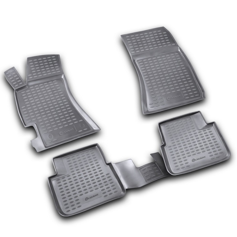 Mats in the salon For SUBARU Impreza 2007->, 4 PCs (polyurethane) mats in the salon for cadillac cts 06 2007 4wd 4 pcs polyurethane