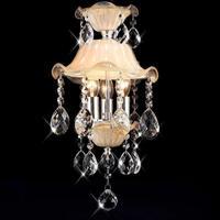 New small crystal Pendant Lights lighting crystal lamp restaurant aisle lights bedside lamp Princess room bedroom lamps