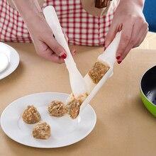 NICEYARD 1 набор рыбы шарики из креветок Meatloaf DIY прессформы устройство для приготовления мясных шариков пластиковая мясная Лопата meatbills форма кухонные инструменты для приготовления пищи