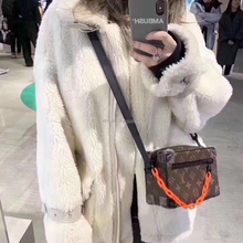 HDHOHR 2019 new free shipping real sheep fur coat  wool camel teddy over size winter women Thick Warm Outerwear