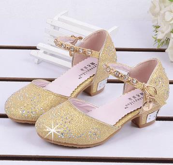 e6d30c88fd5 Nina 2016 Niños Sandalias de La Princesa Niños Niñas Zapatos de la Boda  tacones altos Zapatos de Vestir Zapatos de Fiesta Para Las Niñas Rosa Azul  Oro 08 en ...
