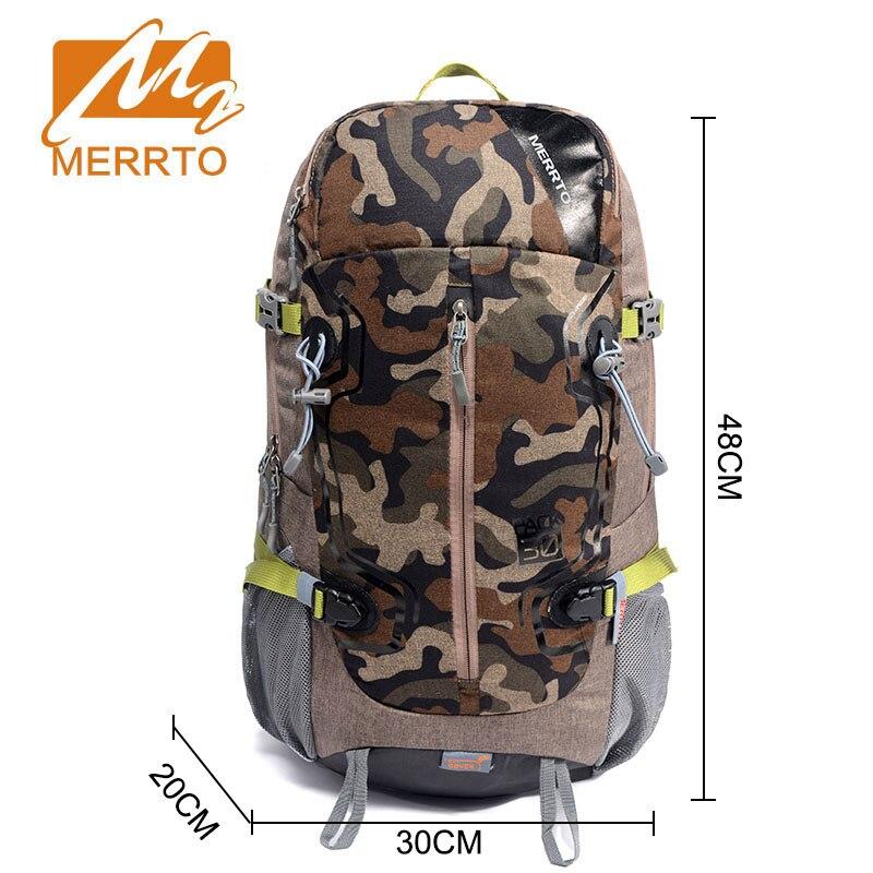 MERRTO hommes femmes tactique camouflage sac en plein air Camping randonnée sac à dos voyage sac à dos montagne escalade équipement 30L étanche