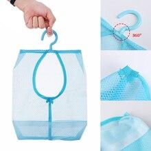 1 шт. Душ Ванна Прачечная карман для хранения ванной прищепка сетки крючки для сумок подвесной мешок Органайзер