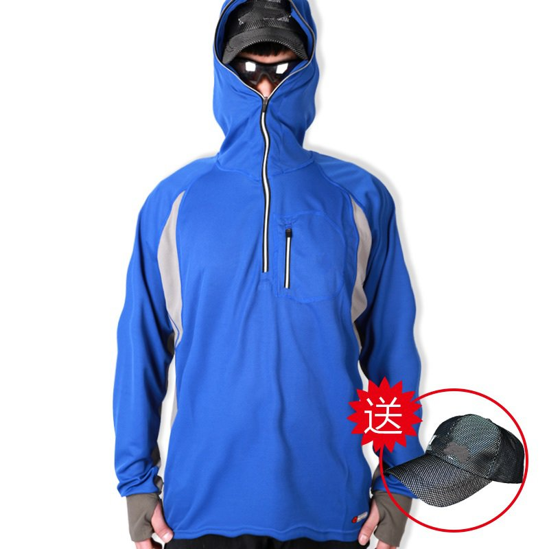 ФОТО Long-sleeved anti-mosquito clothing hooded