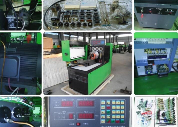 imágenes para Venta de la fábrica 12PSB-D de diesel de la bomba de inyección de combustible banco de los ensayos, banco de prueba diesel, bomba de inyección de combustible banco de pruebas