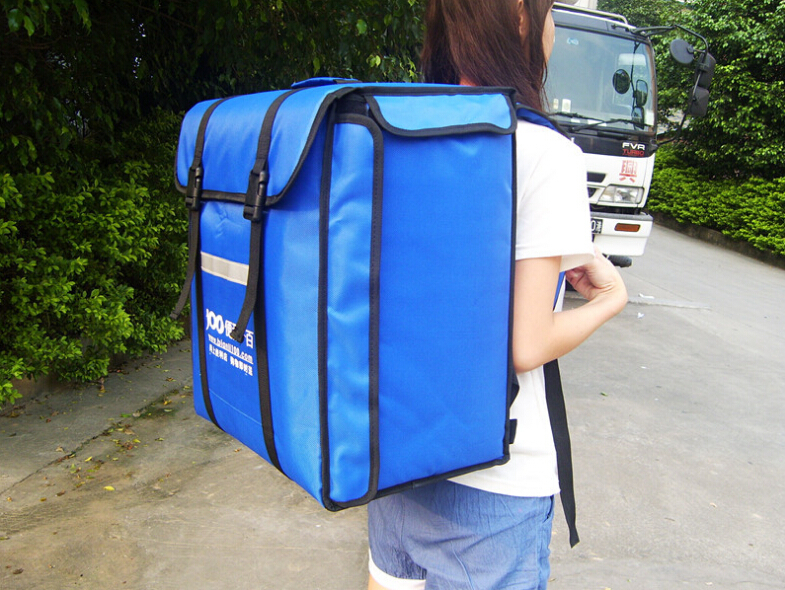 2fast food insulation package food package delivery pizza pizza delivery bag Backpack insulation bag Take out food