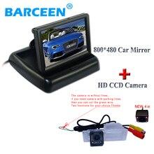 """Traje de colocación con 4.3 """"car monitor de exhibición y hd ccd cámara trasera del coche para Chevrolet Cruze Hatchback de alta calidad"""