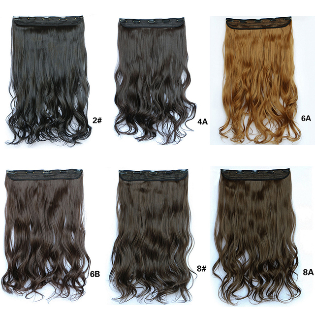 5 clips hair extension wavy curly synthetic hairpieces hair clip 5 clips hair extension wavy curly synthetic hairpieces hair clip on hair wiglets for women hair pmusecretfo Choice Image