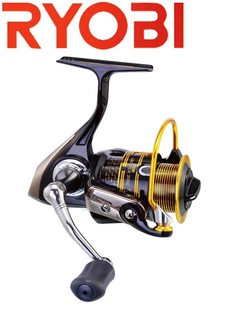 RYOBI ARCTICA 1000/2000/5000 Spinning Reel 100% Original Seawater Incredible Slim Body Fishing Wheel