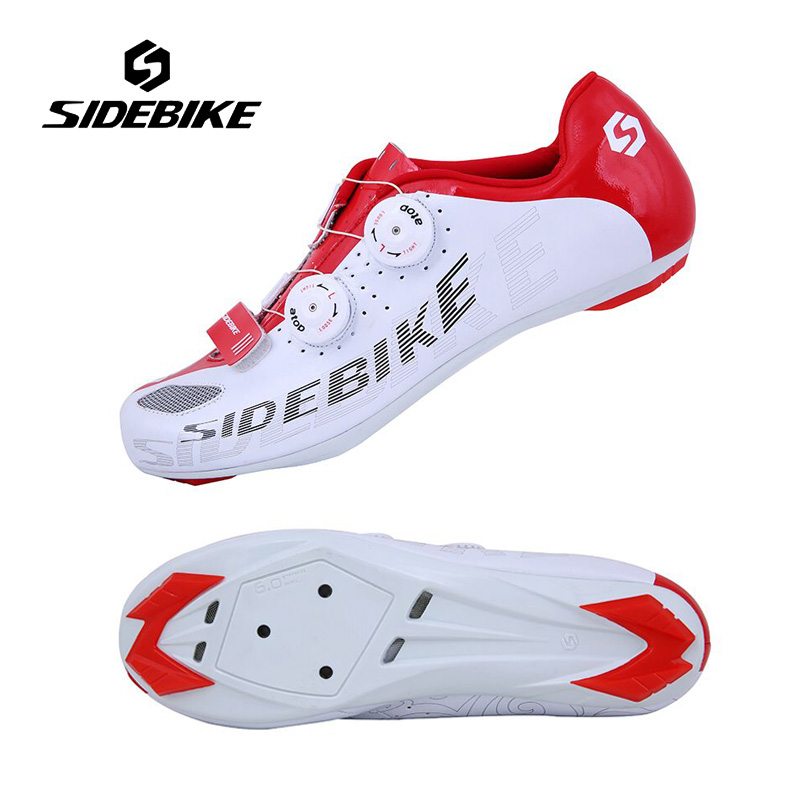 SIDEBIKE New Cycling Bicycle Shoes for Men Breathable Self-locking Bike Shoes Ultralight Cycling Shoes Sapatos de ciclismo цена 2017