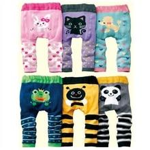 Hooyi baby girl pants boys Clothes Diaper Cover Panties Newborn Underpants leggings Long Trouser Animal Pantyhose