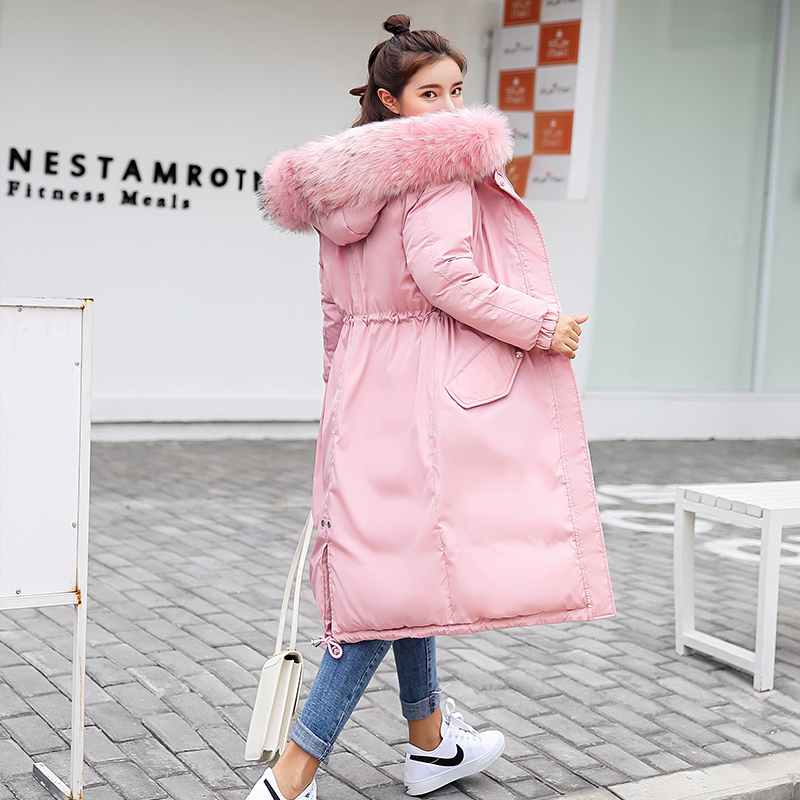 Verlegen 2019 Neue Parkas Weibliche Frauen Winter Mantel Dicke Baumwolle Winter Jacke Frauen Outwear Parkas Für Frauen Winter Unten Jacke Selbstbewusst Unsicher Gehemmt Befangen