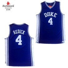 c3a9338ac39f Horlohawk Men s Blue and White Duke University 4 J.J Redick basketball  jersey