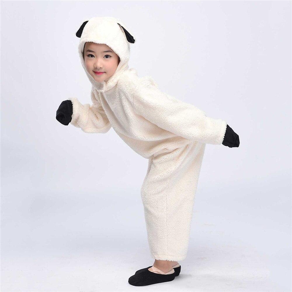 Child Lamb Set with Sound Boys Girls Animal Fancy Dress Accessory Kit New