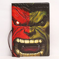 Diffuse marvel comic Hulk  personality cool certificates stereo voltage protective PVC passport packages