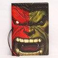 Difusa de cómic de marvel Hulk personalidad fresco certificados estéreo PVC pasaporte paquetes de protección de voltaje