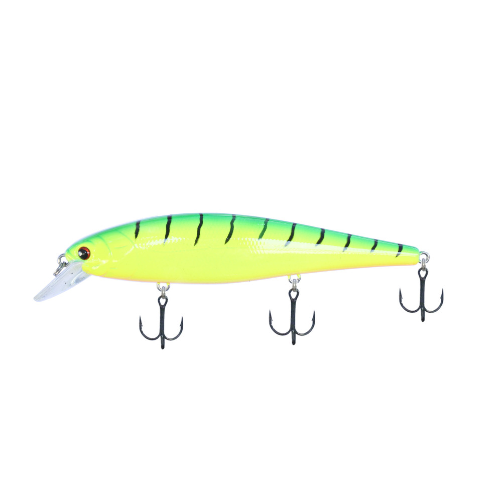BassLegend- Fishing Suspending Minnow Jerkbait Swimbait Bass Pike Lure 128 SP 128mm/26g 5 5 2