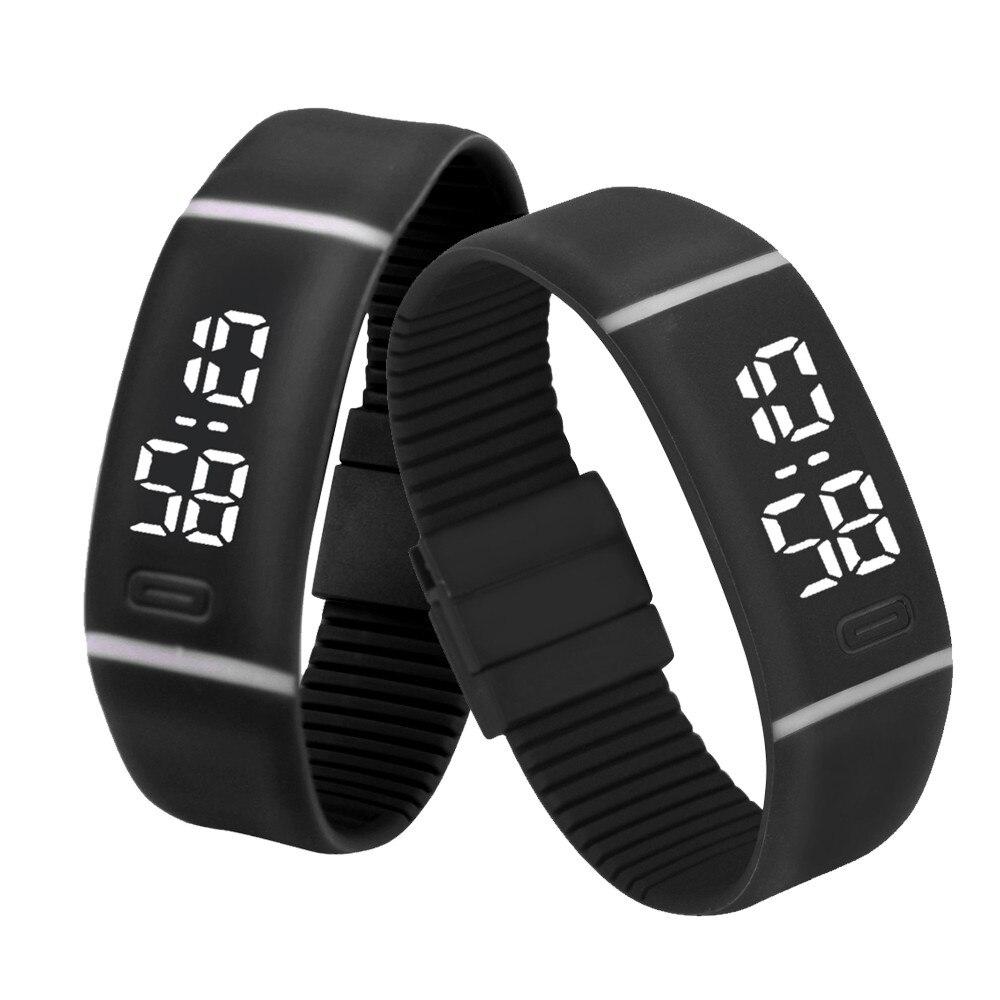 de44cb97ea1 Homens moda Relógios Desportivos Data LEVOU Digitais Pulseira Relógio  Ocasional Relógio Masculino Relógios Militar Relogio masculino