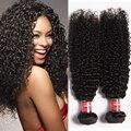 Irina hair tecelagem encaracolado afro brasileira kinky curly 3 pcs bundles não transformados jerry enrolar o cabelo virgem humano tecer cabelo boêmio