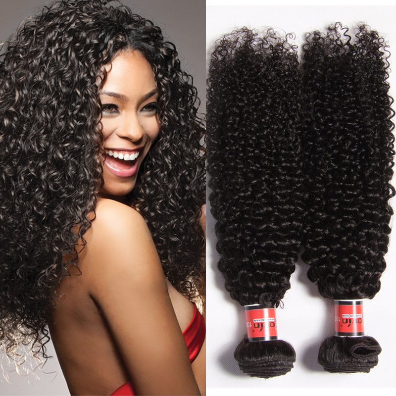 Irina Hair Weaving Curly Brazilian Afro Kinky Curly 3pcs Bundles