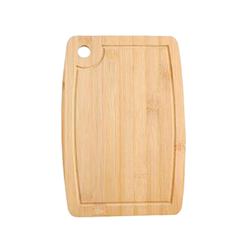 1 Pc Home Simplicity Arc Miniature Cutting Cheese Board Double Sides Available Bamboo Fruit Cake Tray Cooking Blocks (28x18cm)(China)